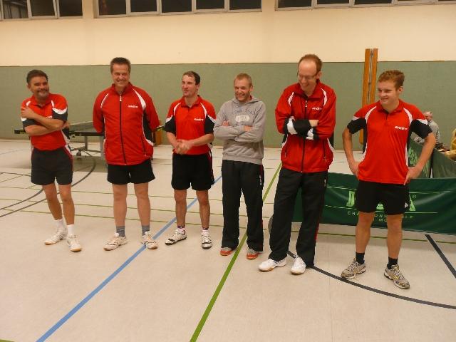 v.l.n.r.: Bernt Jansen, Thomas Levien, Mirko Kretschmer, Michael Hüls, Markus Frankenberg und Philipp Lauenstein