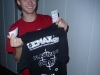 Jonas Baars mit neuem TT-Trainingsshirt