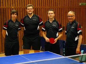 7. Herren (v.ln.r.): Daniel Belz, Julian Rickmann, Thomas Kessler und Patric Bachert (Foto: privat)