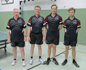 Heute mal in der Besetzung Peter Drescher, Joachim Kruse, Thilo Tetzlaf und Jonas Baars (von links)