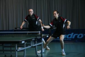 Markus Frankenberg und Jörg Kuhlmann zeigten eine gute Leistung.