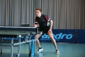 Alexander Dubs zeigte sowohl im Doppel wie auch im Einzel eine super Leistung und hatte einen großen  Anteil am Sieg.
