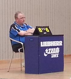 Als Vorsitzender wiedergewählt: Ralf Schrick vom SC Schölerberg