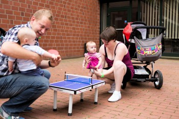TT-Frühförderung auf dem Familienfest (Foto: Holger Straede)