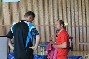 Wird auch diese Saison die Strippen in seiner Mannschaft ziehen: Justus Treubel (rechts).