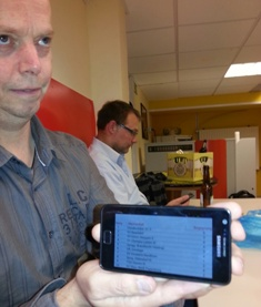 Carsten Heils teilt uns die frohe Kunde mit: kurzzeitiger Tabellenführer!