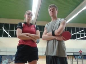 Ein saucooles Duo: Henrike und Marian