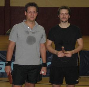 Siegerdoppel Matthias Upmeier und Kevin Kurbjuweit (Foto: privat)