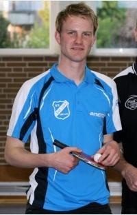 Sascha Ahlemeyer erreichte bei den Herren B das Achtelfinale (Foto: aluetta.de)