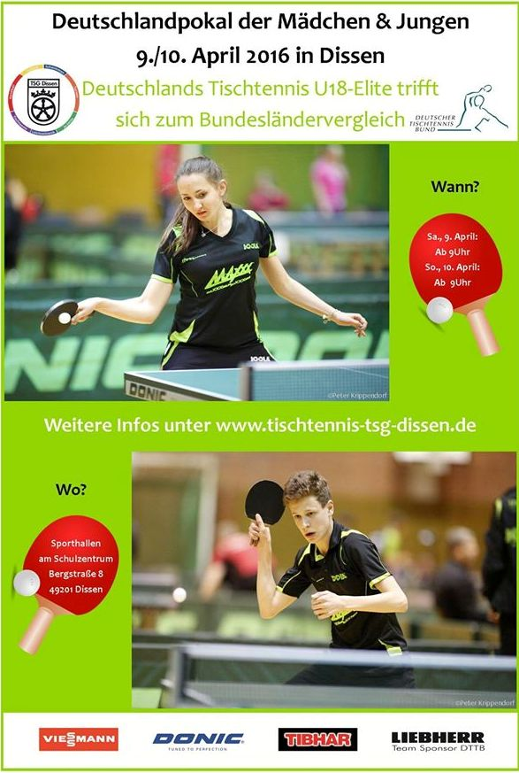 Deutschlandpokal mit Lokalmatadoren: Niina Shiiba & Jonah Schlie (rechts unten)