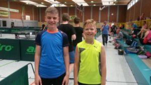 Ivan und Gleb bei ihrem Einsatz in Spelle-Venhaus (Foto: Philipp Lauenstein)