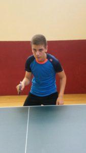 Ivan in Wettkampfstimmung